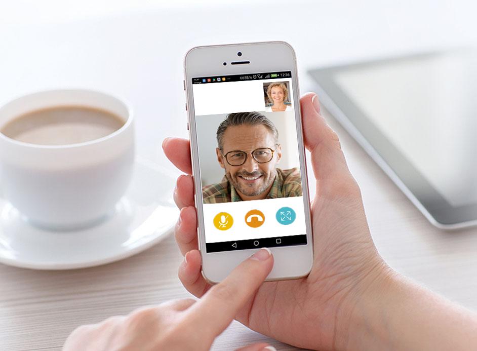 Wideodomofon IP Greon obsługa przez smartfon