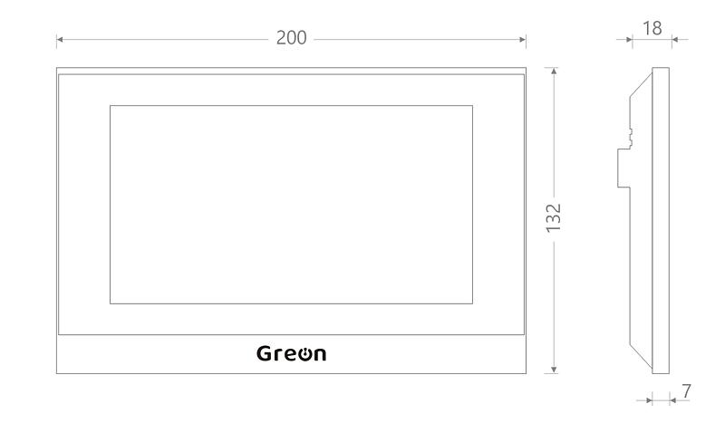 Panel Greon IP GR-IS4-SL