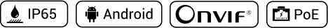 Akuvox R29 IP65 Android Onvif PoE