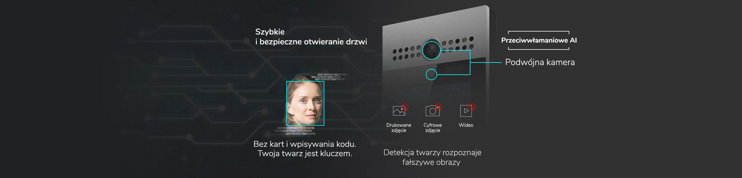 Akuvox R29C detekcja twarzy