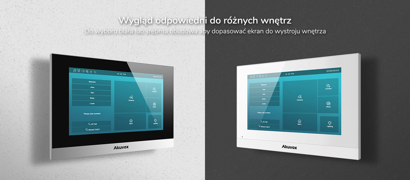 Monitor wideodomofonu IP Akuvox C313