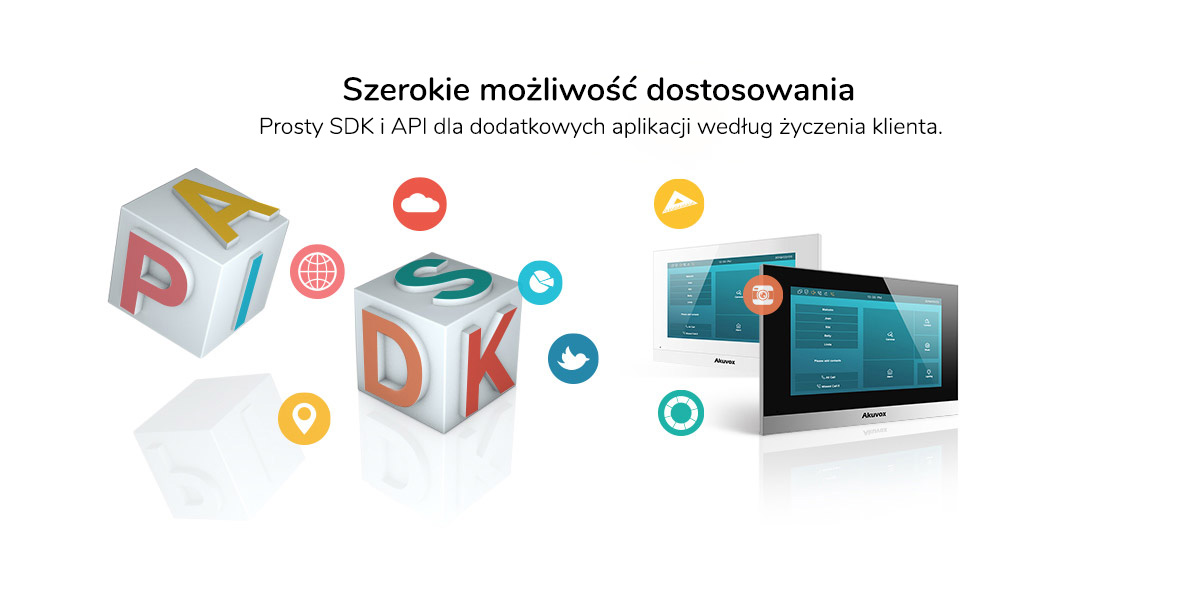 Monitor wideodomofonu IP Akuvox C315