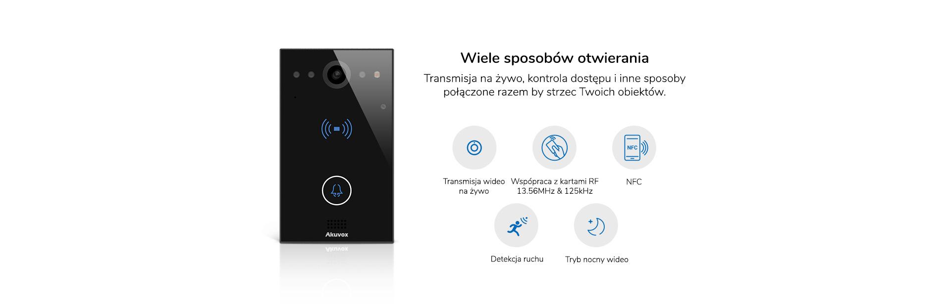 wideodmofon IP SIP Akuvox E11