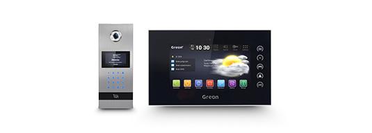 Wideodomofon IP GR‑OS2 Wideodomofon IP GR‑IS1-BA