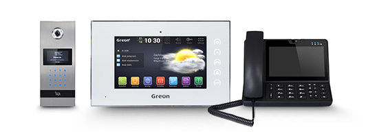 Wideodomofon IP GR‑OS2 Wideodomofon IP GR‑IS1-WA