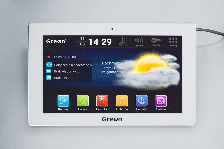 Wideodomofon IP GREON GR-IS11-WA