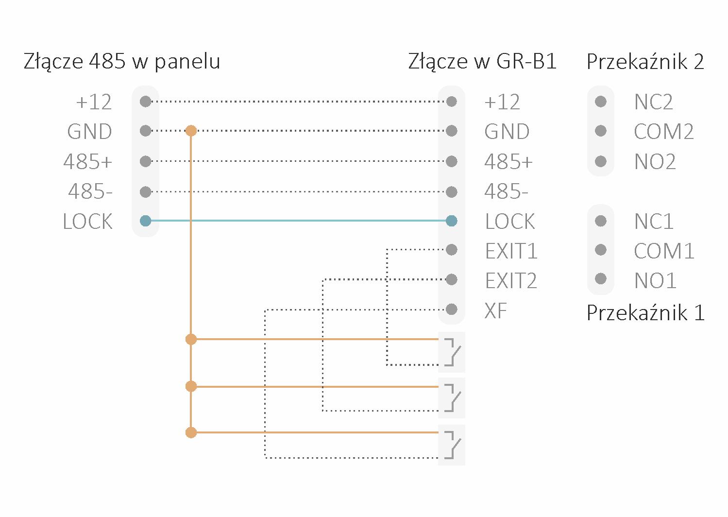 GR-B1 – Moduł dodatkowego przekaźnika dla paneli serii Greon